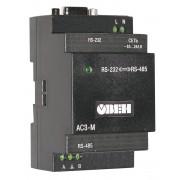 АС3-М преобразователь интерфейсов RS-232 <-> RS-485 с гальванической изоляцией