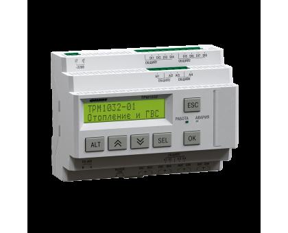 ТРМ1032 регулятор для отопления и ГВС с транзисторными ключами