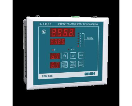 ТРМ136 шестиканальный регулятор с RS-485