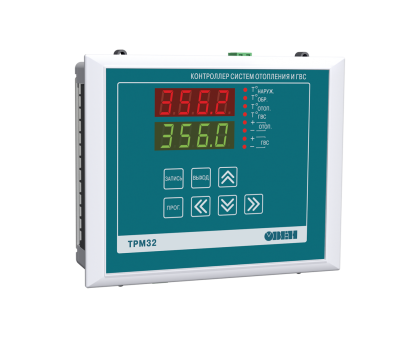ТРМ32 контроллер для отопления с ГВС
