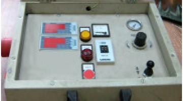 Восстановление блока автоматического управления вулканизационного пресса